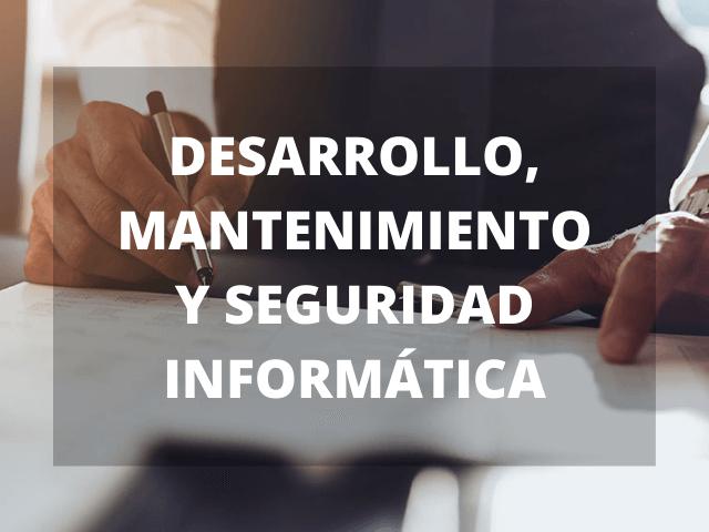 Desarrollo, Mantenimiento y Seguridad Informática en Málaga