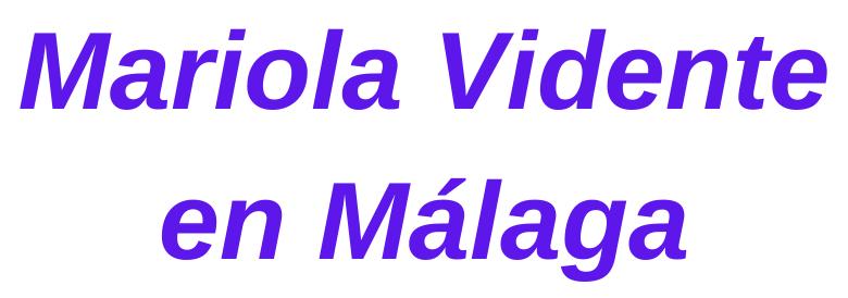 Mariola Vidente en Málaga