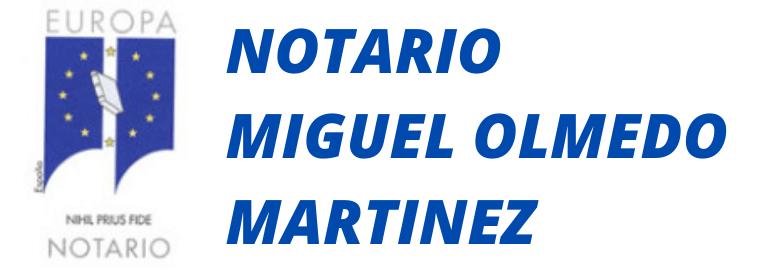 Notario Miguel Omedo en Málaga