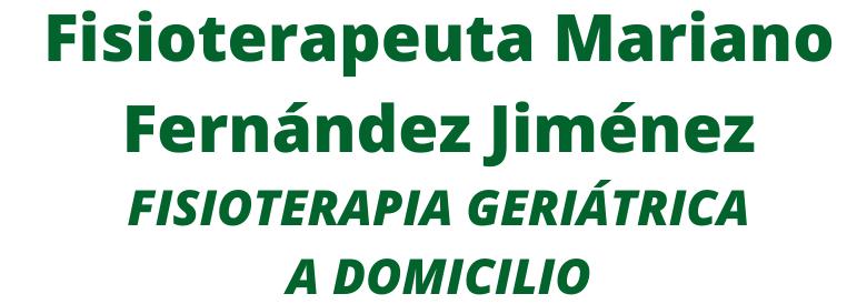 Fisioterapia Geriátrica a Domicilio en Málaga